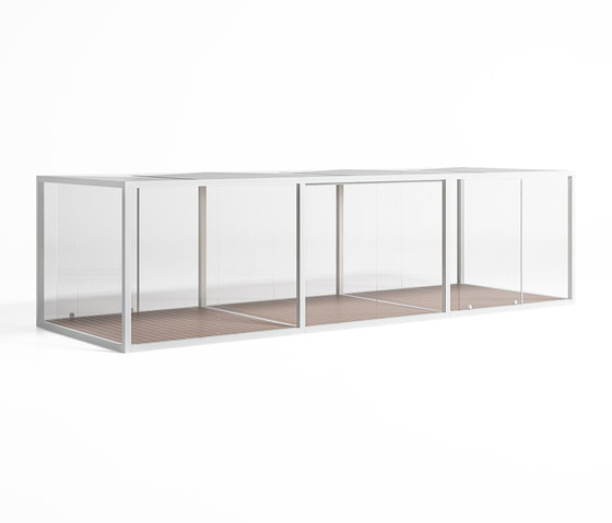 Cristal Box 3 by GANDIABLASCO | Gazebos