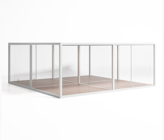 Cristal Box 4 by GANDIABLASCO | Gazebos