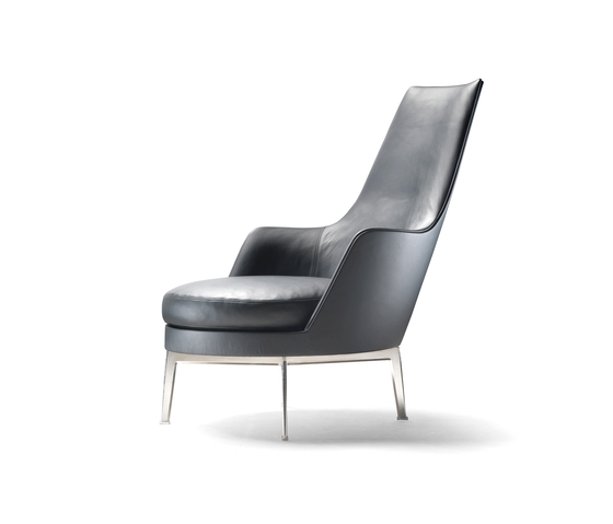 Guscioalto Armchair by Flexform | Lounge chairs