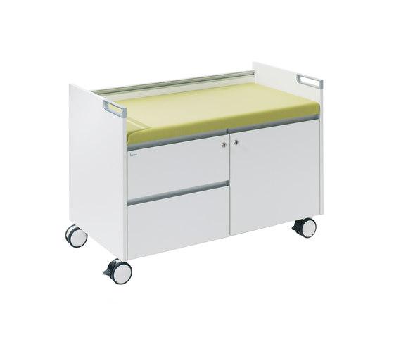 T-Caddy de Bene | Caissons mobiles pour bureaux