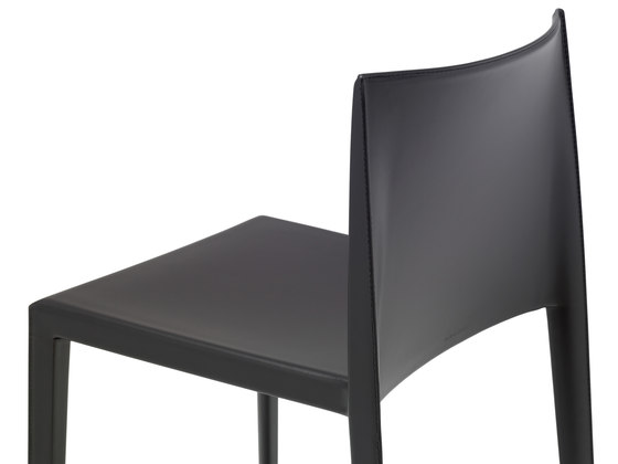 Sail Leather SI 1246 by Andreu World | Visitors chairs / Side chairs