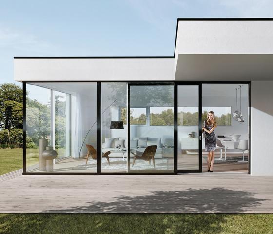 Platin Blue by JOSKO | Window systems