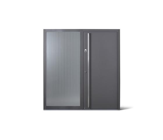 Nevos Alu - Platinum von JOSKO | Wohnungseingangstüren