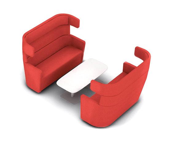 Parcs | Wing sofa von Bene | Lounge-Arbeits-Sitzmöbel