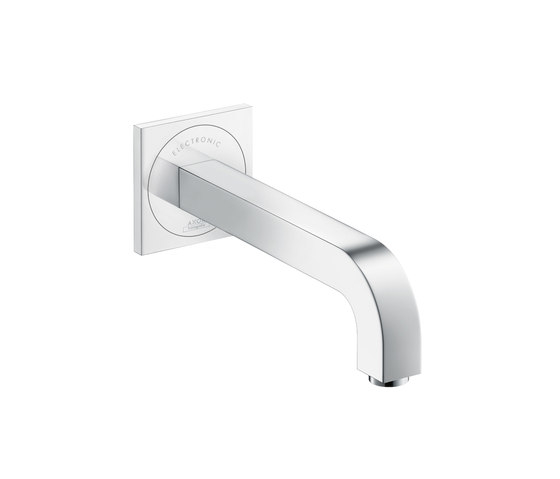 AXOR Citterio Electronic Basin Mixer for concealed installation with spout 220mm by AXOR | Wash-basin taps