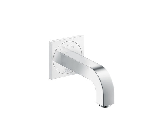 AXOR Citterio Electronic Basin Mixer for concealed installation with spout 160mm by AXOR | Wash basin taps