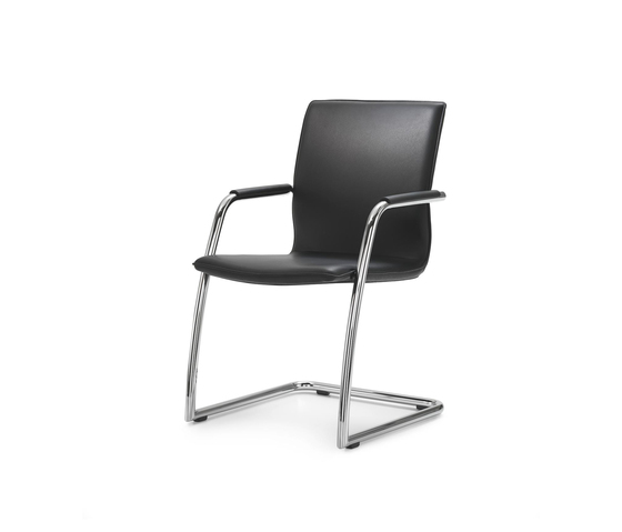 ACCORDO Cantilever chair by Girsberger | Visitors chairs / Side chairs