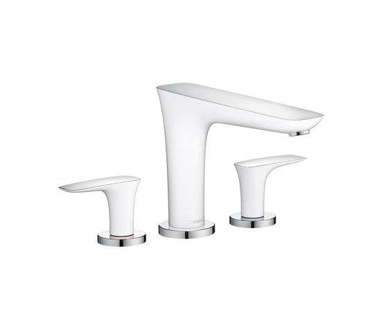 Hansgrohe PuraVida 3-Hole Rim-Mounted Bath Mixer DN15 by Hansgrohe | Bath taps