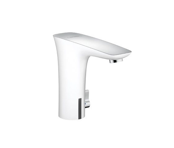 Hansgrohe PuraVida Electronic Basin Mixer DN15 with temperature control battery operated by Hansgrohe | Wash-basin taps