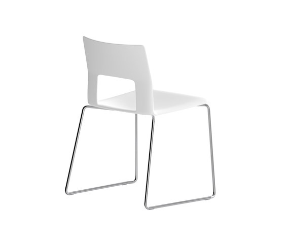 Kobe sledge chair de Desalto | Sillas multiusos