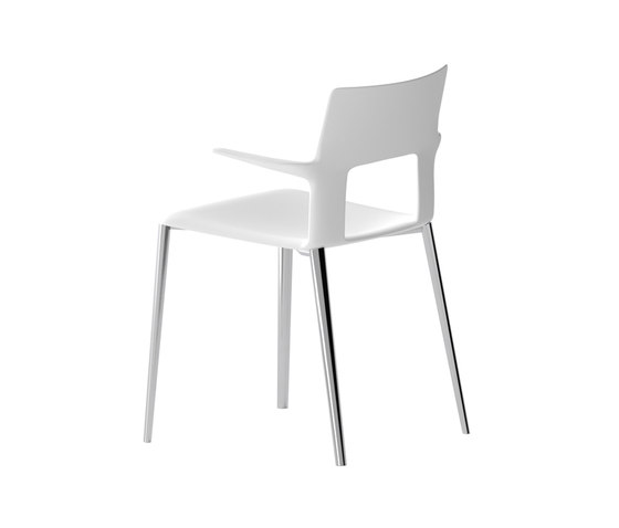 Kobe chair with armrests by Desalto | Chairs