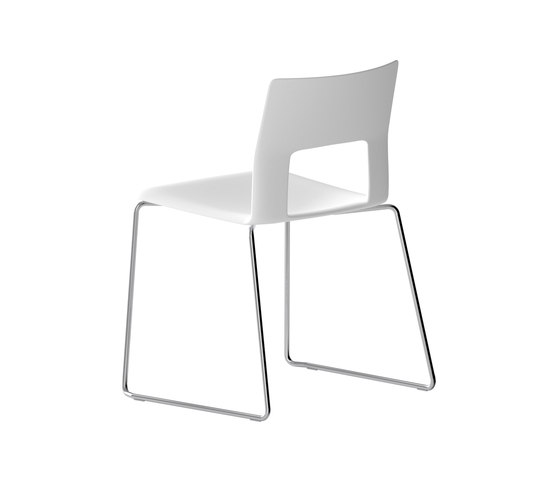 Kobe chair steel rod by Desalto | Multipurpose chairs