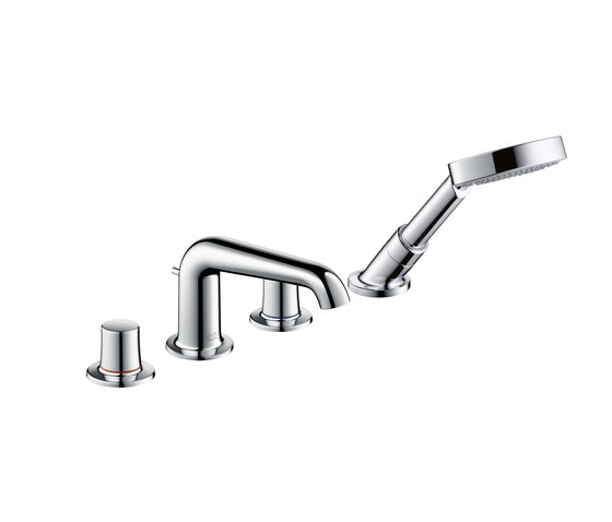 AXOR Bouroullec 4-hole rim-mounted bath mixer DN15 by AXOR | Bath taps
