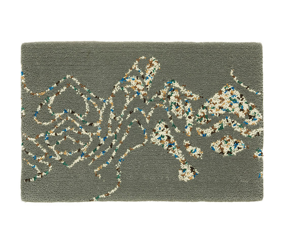 Embroidery Sage 502 by Kasthall | Rugs / Designer rugs