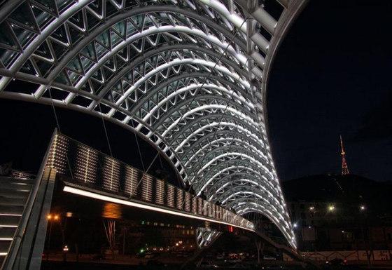 powerglass® balustrade: Rike Bridge di Peter Platz Spezialglas | Parapetti in vetro