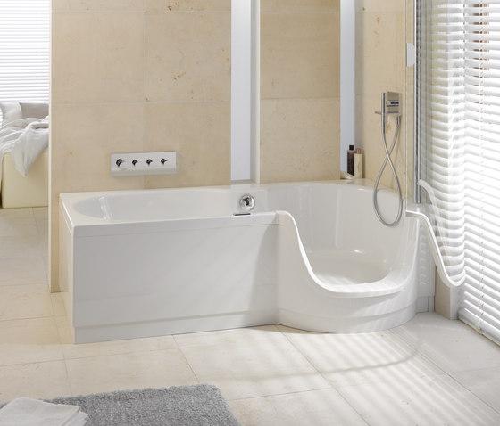 Bettetwist ii di bette prodotto - Combinati vasca doccia ...