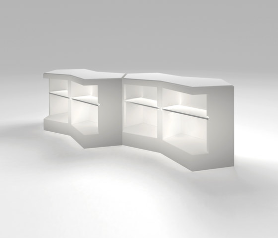 Iceberg by PEDRALI | Bar counters