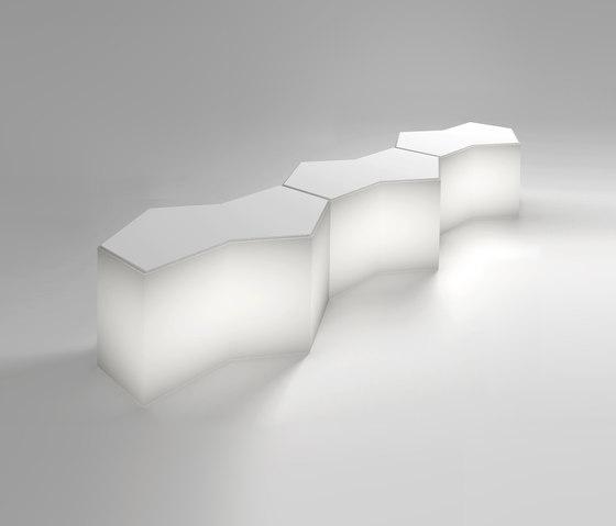 Iceberg di PEDRALI | Banconi bar da giardino