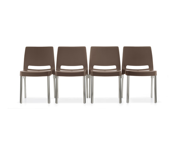 Joi 870 by PEDRALI | Multipurpose chairs