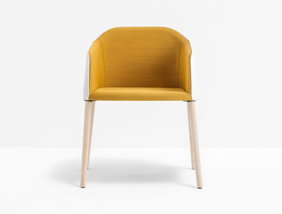 Laja 884 by PEDRALI   Visitors chairs / Side chairs