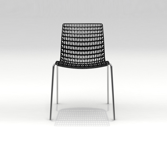 Moiré chair by MOVISI | Visitors chairs / Side chairs