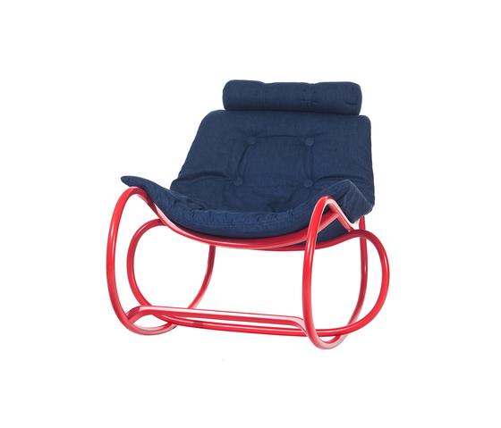 Wave Schaukelstuhl von TON | Sessel