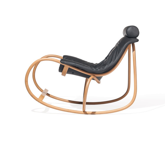 Wave rocking chair by TON | Armchairs
