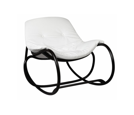 Wave rocking chair di TON | Poltrone