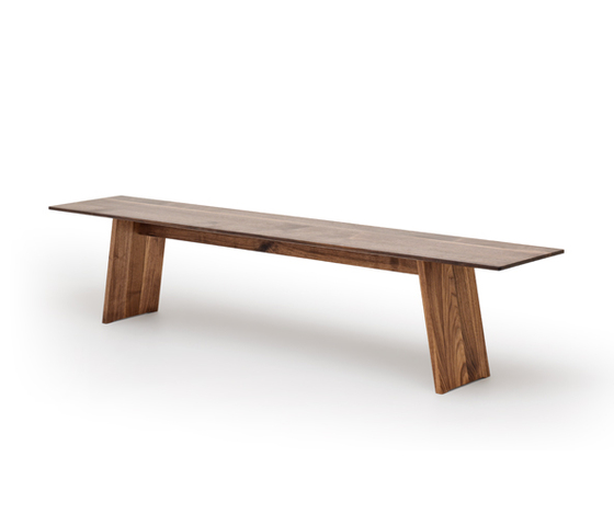 SLIGHT bench de Holzmanufaktur | Bancs de restaurant