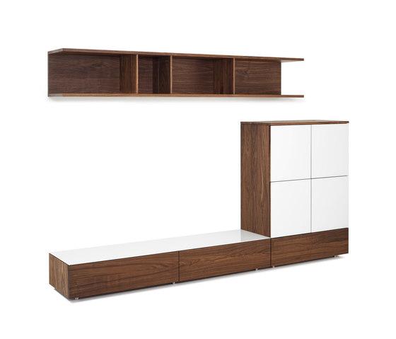 FLAT livingroom system de Holzmanufaktur | Combinaisons de rangement