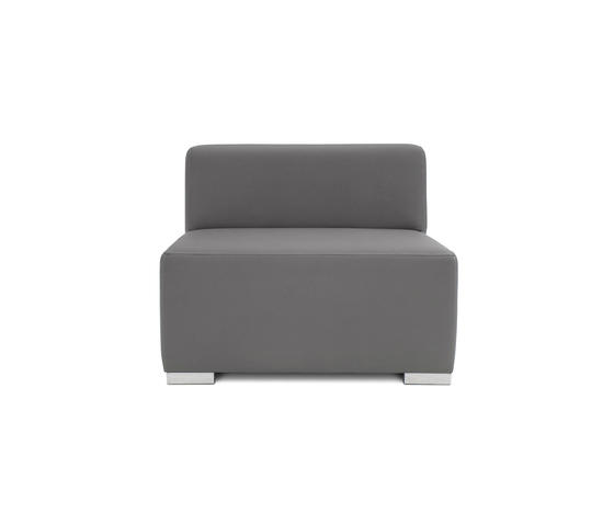 Block 90 1,5 Seat by Design2Chill | Modular seating elements