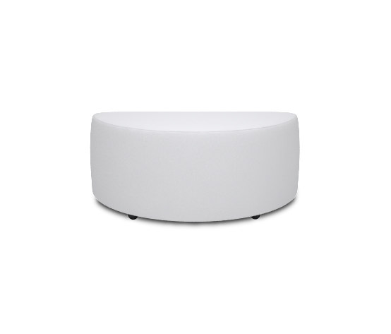 Square Hocker 90 half round von Design2Chill | Poufs / Polsterhocker