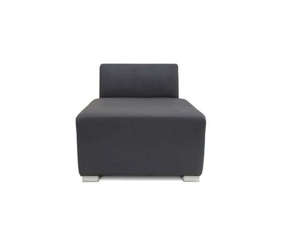 Square Longchair di Design2Chill | Chaise longues