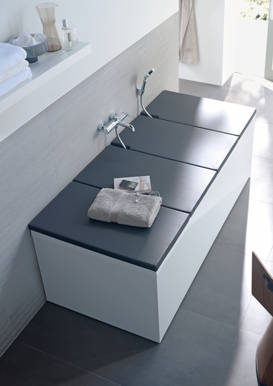 Bathtub Cover by DURAVIT | Shelves