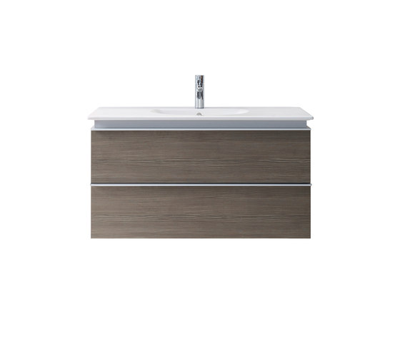 Darling New - Vanity units with integrated console by DURAVIT | Vanity units
