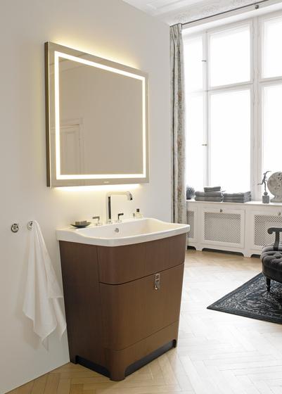 Esplanade - Módulos para debajo del lavabo con encimera integrada de DURAVIT | Lavabos mueble