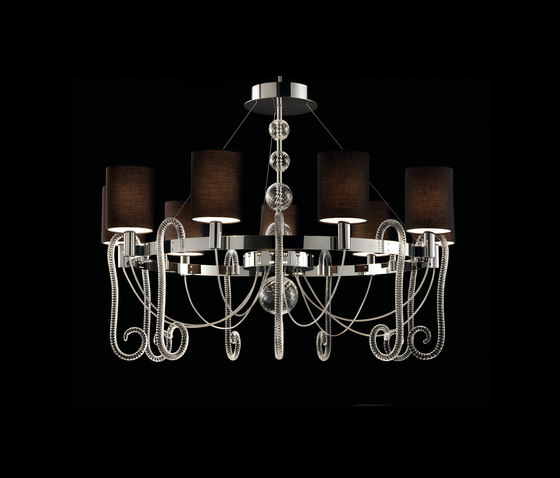 Niu Chan 1 by Barovier&Toso | Ceiling suspended chandeliers