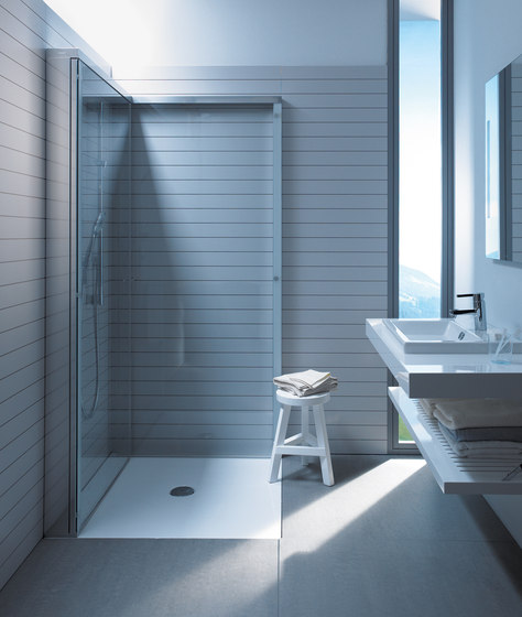 douche open space duravit – devolonter, Badkamer