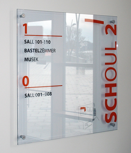 glasskit by Marcal Signalétique | Wayfinding
