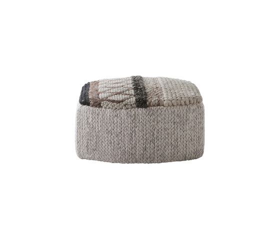 Mangas Original Pouf Caramelo MP1N Natural 4 by GAN | Poufs
