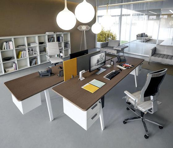 DV804-E-Place 04 by DVO | Individual desks