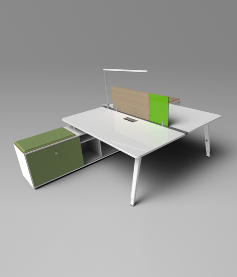 DV804-E-place by DVO | Desking systems