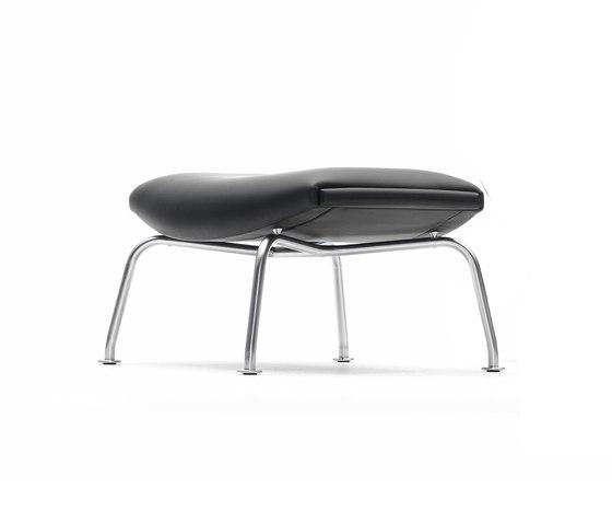 Ox-chair footstool EJ 100-F by Erik Jørgensen | Poufs