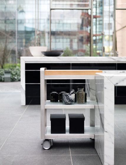 DINING DESK by Poggenpohl | Tea-trolleys / Bar-trolleys