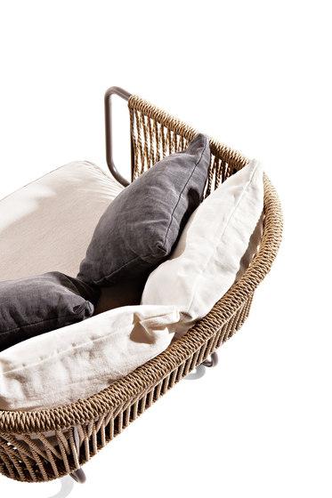 Babylon armchair by Varaschin | Armchairs
