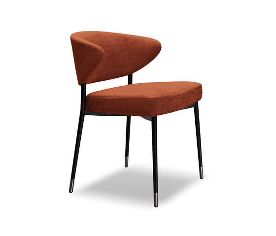 Mills by Minotti | Visitors chairs / Side chairs