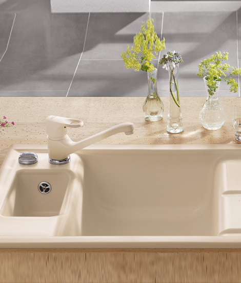 Laola 60 Built-in sink by Villeroy & Boch | Kitchen sinks