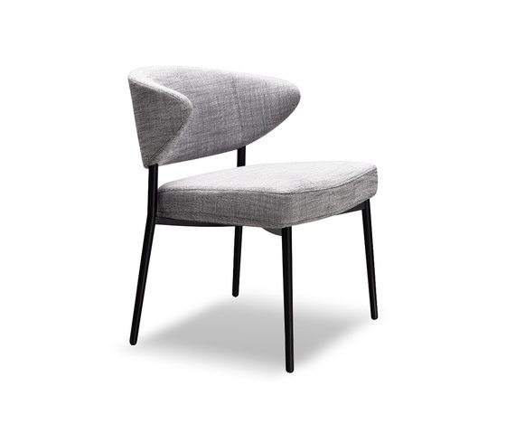 Mills Low by Minotti | Visitors chairs / Side chairs