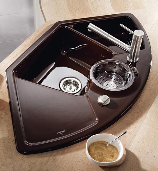 Solo Eck Corner sink by Villeroy & Boch | Kitchen sinks