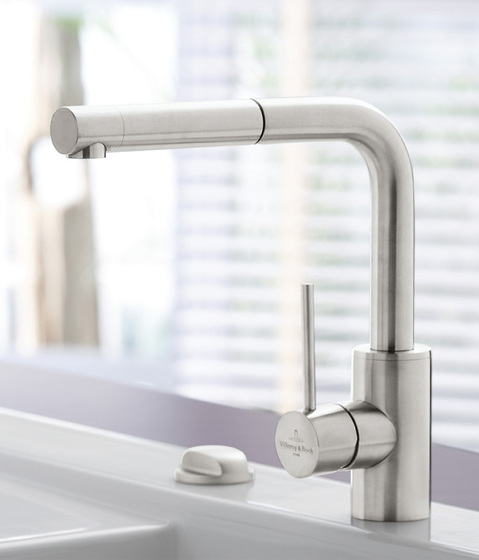 Steel Shower Single-lever mixer for sink de Villeroy & Boch | Robinetterie de cuisine